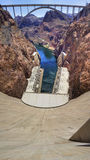 Hoover Dam Front Royalty Free Stock Photography