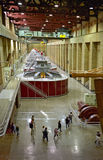 Hoover Dam Generators Stock Image