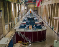 Hoover Dam Generators - June 25, 2015 Stock Photography