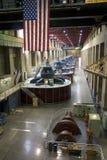 Hoover Dam Generators, Nevada, USA Stock Image