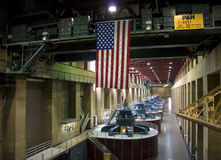 Hoover Dam Generators, Nevada, USA Stock Images