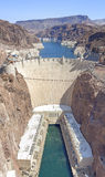 Hoover Dam high quality vertical panorama Royalty Free Stock Photo
