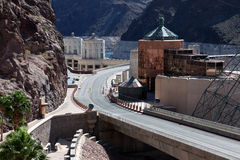 Hoover Dam Highway Stock Images