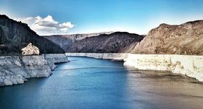 Hoover Dam. Huge landscape in Hoover Dam Stock Image