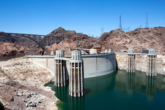 Hoover Dam Hydroelectric Power Royalty Free Stock Image