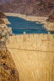 Hoover Dam Hydroelectric power station Arizona Nevada Stock Image