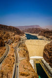 Hoover Dam Hydroelectric power station Arizona Nevada Stock Images