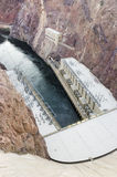 Hoover Dam. Hydroelectric Power Station USA Stock Photos