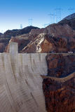 Hoover Dam Royalty Free Stock Photos