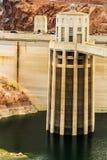 Hoover Dam - Intake Tower Stock Photo