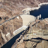 Hoover Dam, Lake Mead. Royalty Free Stock Photos