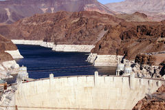 Hoover Dam,  Lake Mead and Colorado River Stock Photography