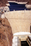 Hoover Dam,  Lake Mead and Colorado River Stock Images