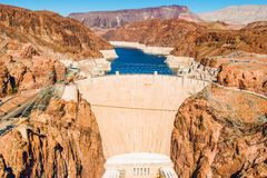 Hoover Dam at Lake Mead Royalty Free Stock Photo
