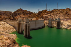 Hoover Dam and Lake Mead Royalty Free Stock Image