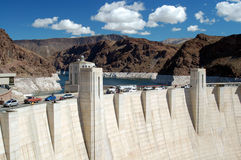 Hoover Dam on Lake Mead,Las Vegas Royalty Free Stock Image