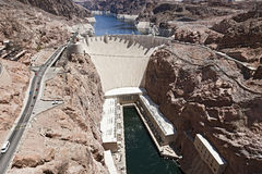 Hoover Dam and Lake Mead, Nevada Royalty Free Stock Image