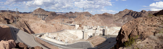 Hoover Dam - Lake Mead Stock Photography