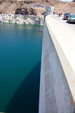 Hoover Dam at Lake Powell. In Nevada Royalty Free Stock Photo