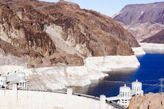 The Hoover Dam, the landscape. Stock Photography
