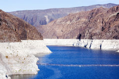 The Hoover Dam, the landscape. Stock Image