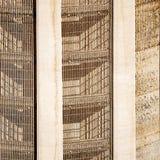 Hoover Dam. Lattice of Intake tower Royalty Free Stock Image