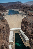 Hoover Dam Low Water Royalty Free Stock Photography
