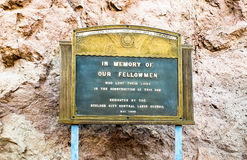 Hoover Dam Memorial Royalty Free Stock Photo