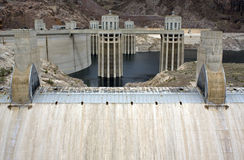 Hoover dam near Boulder City Stock Photo