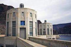 Hoover dam near Boulder City Stock Photos