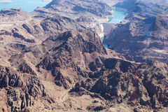 Hoover Dam in Nevada Royalty Free Stock Photos