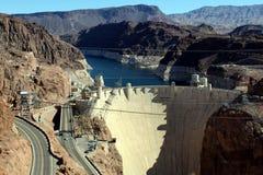 Hoover dam, Nevada/ Ariozna state line, USA stock photos