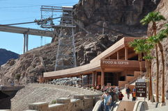 Hoover Dam in Nevada Stock Photo