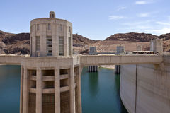 Hoover Dam Nevada. Stock Photo