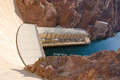 Hoover Dam, Nevada, USA Royalty Free Stock Photography