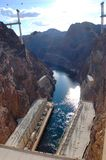 Hoover Dam, Nevada, USA Royalty Free Stock Photos
