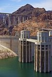 Hoover Dam Nevada Royalty Free Stock Photography