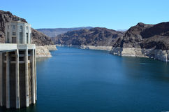Hoover Dam, Nevada, USA Stock Image