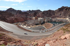 Hoover Dam overview Stock Photography