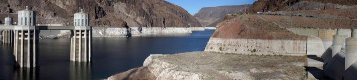 Hoover Dam Panorama Stock Photography