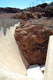 The Hoover Dam Royalty Free Stock Photos