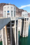 Hoover dam. Picture of the hoover dam at a turbine Royalty Free Stock Photo