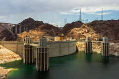 Hoover Dam Power Station Royalty Free Stock Images