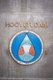 Hoover Dam Sign Stock Images