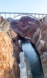Hoover Dam. The Hoover Dam is situated on the Colorado river on the Arizona, Nevada Border Royalty Free Stock Photography