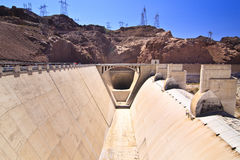 Hoover Dam Spillway Stock Images