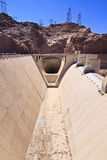 Hoover Dam Spillway Royalty Free Stock Images