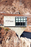 Hoover Dam Spillway House Royalty Free Stock Photography