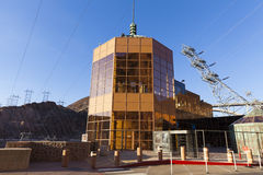 Hoover Dam Tour Area in Boulder City, NV on May 13, 2013 Stock Images