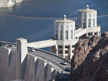 Hoover Dam Tourists Royalty Free Stock Photos